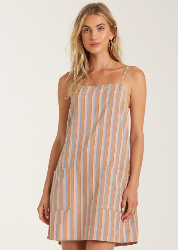 Straight Round Dress - Multi
