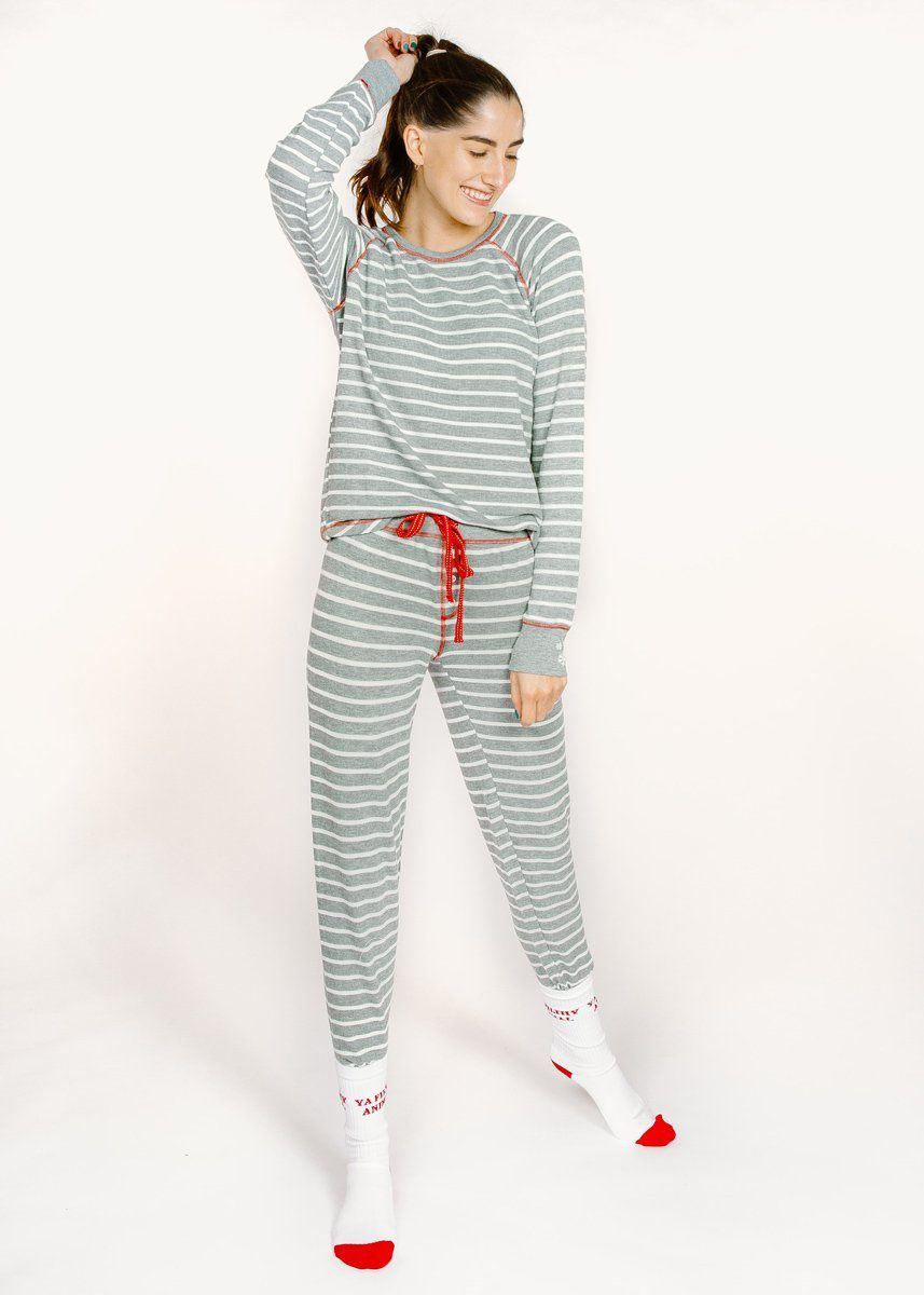Joyful Spirit Jammie Pant - Grey