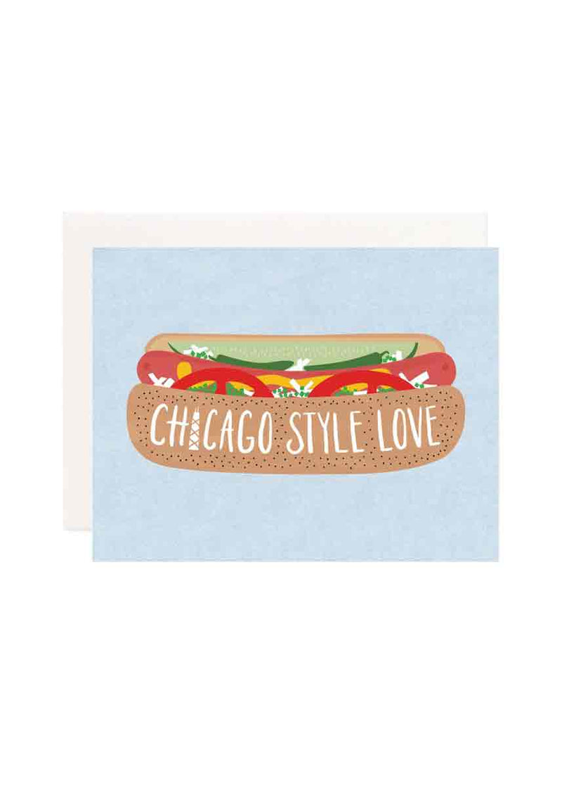 Chicago Kind of Love Greeting Card