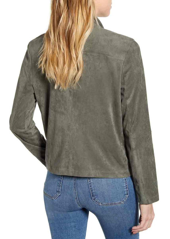 Suede It Out Jacket - Green