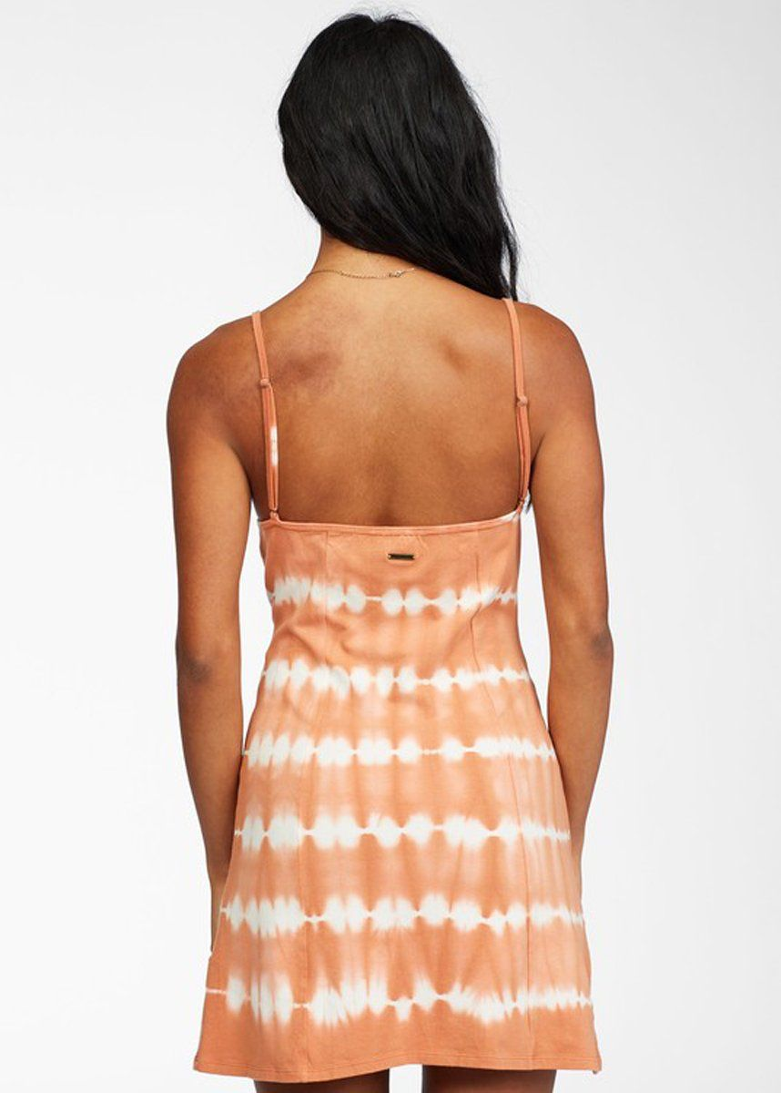 Easy On Me Dress - Sunburnt