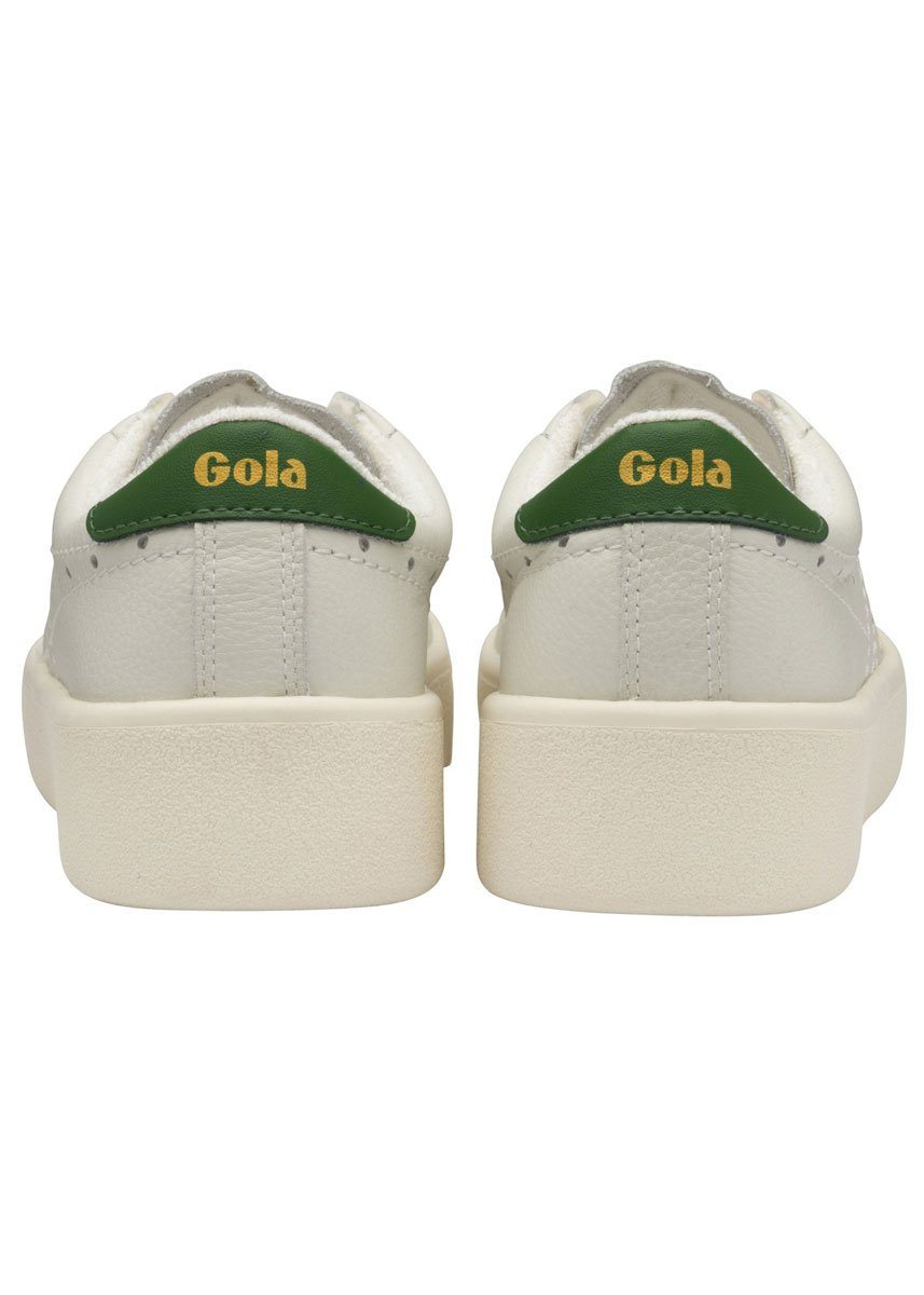 Gola Classics Women's Super Court Leather Trainer - Green
