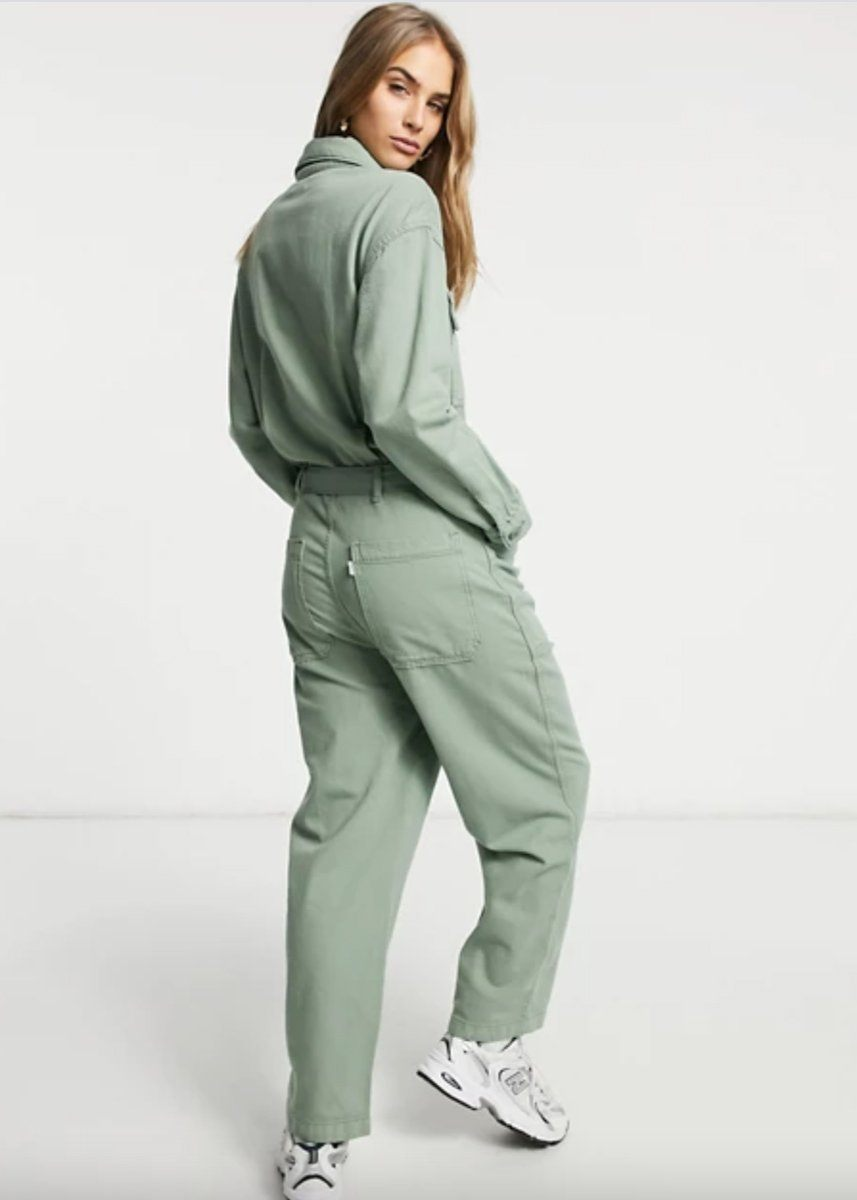 Levi's Surplus Jumpsuit - Sea Spray