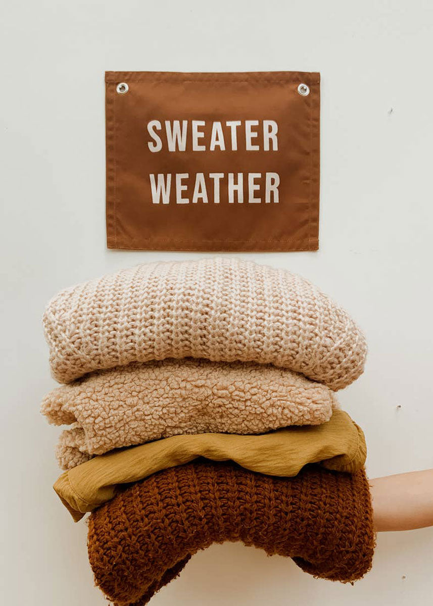 Sweater Weather Banner
