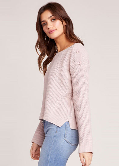 Chenille Before Me Sweater - Parchment