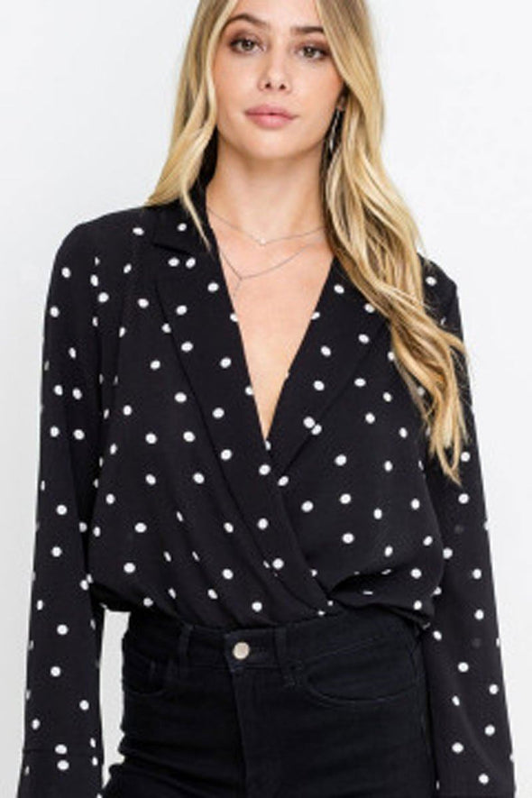 Morgan Polka Dot Bodysuit