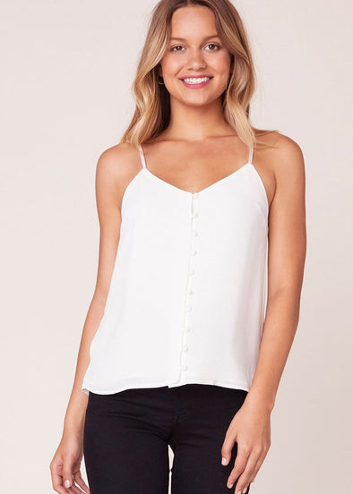 Crazy Little Thing Tank - Ivory