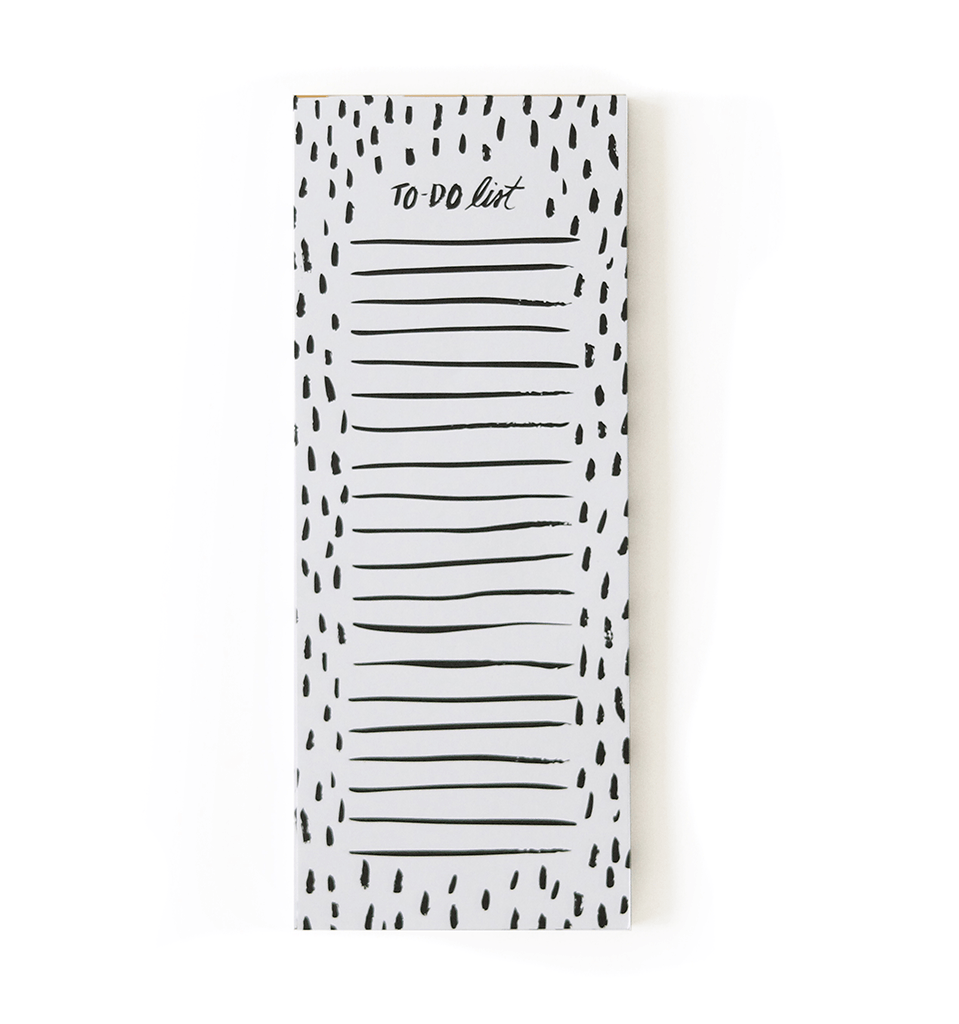 Dots To-Do List Jotter