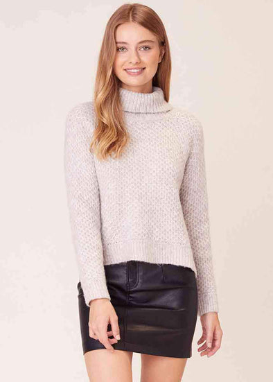 Big Easy Turtleneck Sweater - Toffee