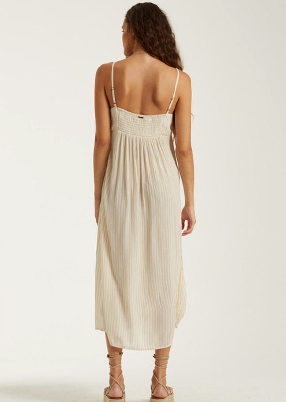 Twist It Dress - Almond