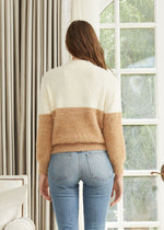 Solstice Two Toned Sweater