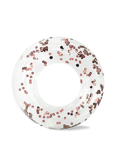 Cue the Confetti! Ring Floatie - Rose Gold