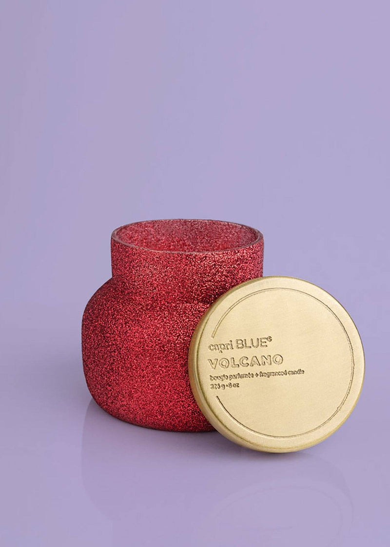 Red Volcano Glam Petite Jar - 8oz