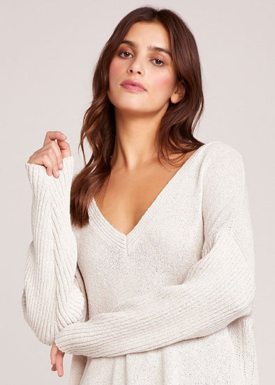 Getting Warmer Ribbed Sweater - Light Sand