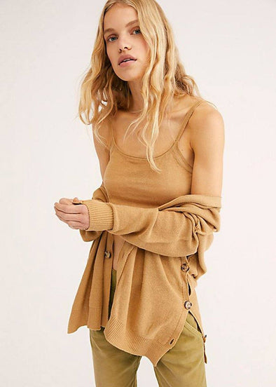 Weekend Breeze Sweater Set - Camel