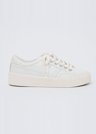 Gola Classics Women's Baseline Mark Cox Leather - Off White