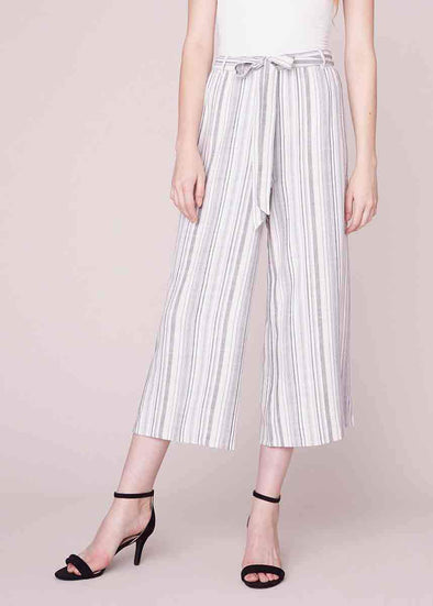 Not My Type Wide Leg Cropped Pant