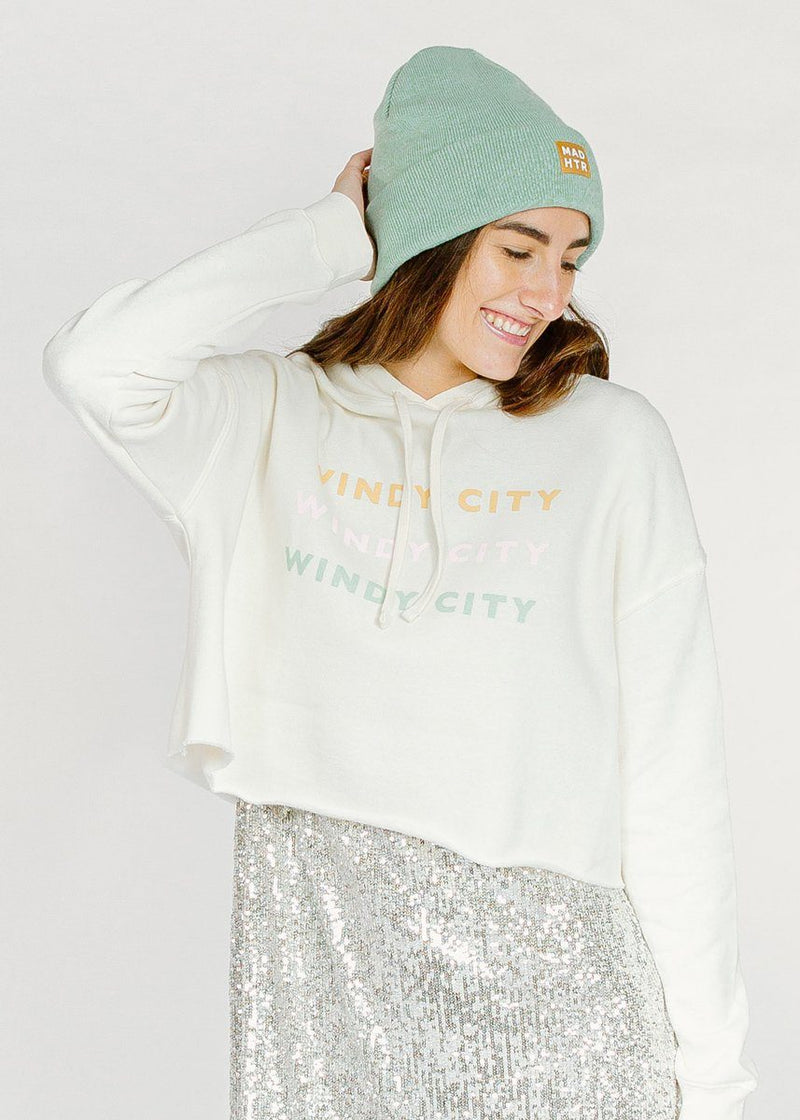 Windy City Crop Sweatshirt
