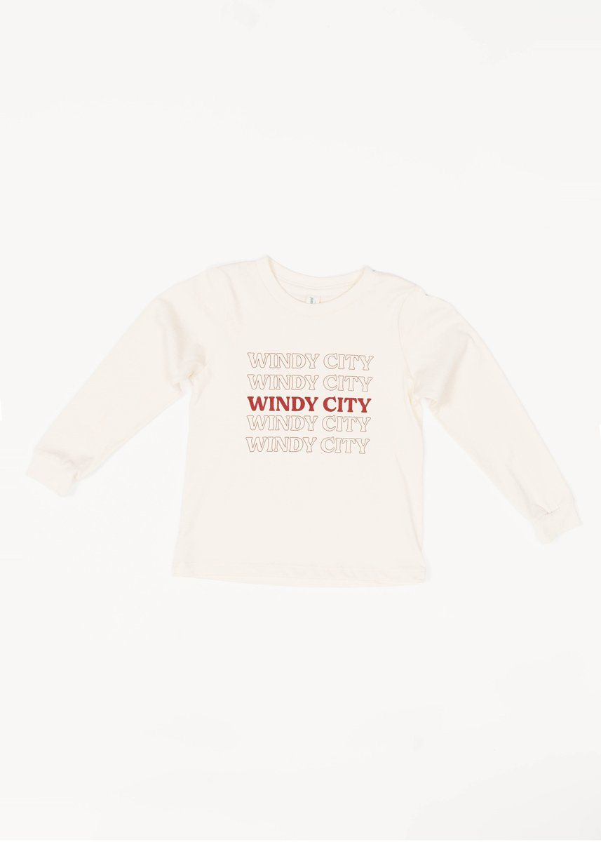 Windy City Vintage Bag Toddler Shirt