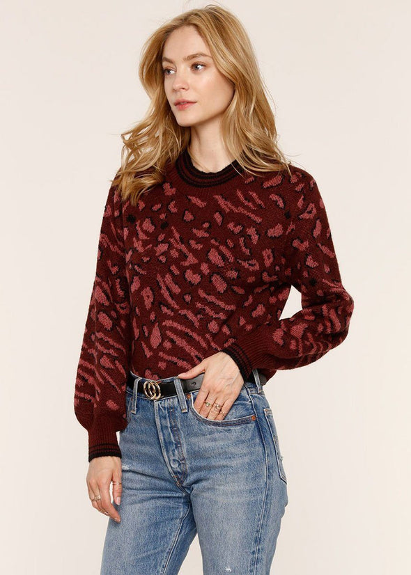 Mabel Sweater - Wine