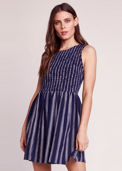 You Can Jive Striped Dress