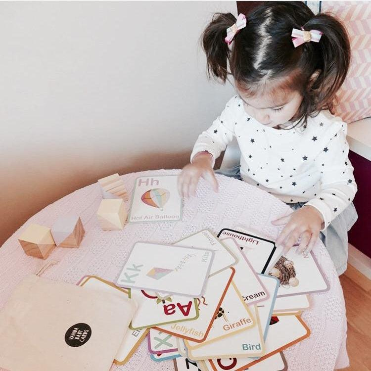 ABC Flash Cards - Learning Cards - Montessori Learning-Vanda Baby