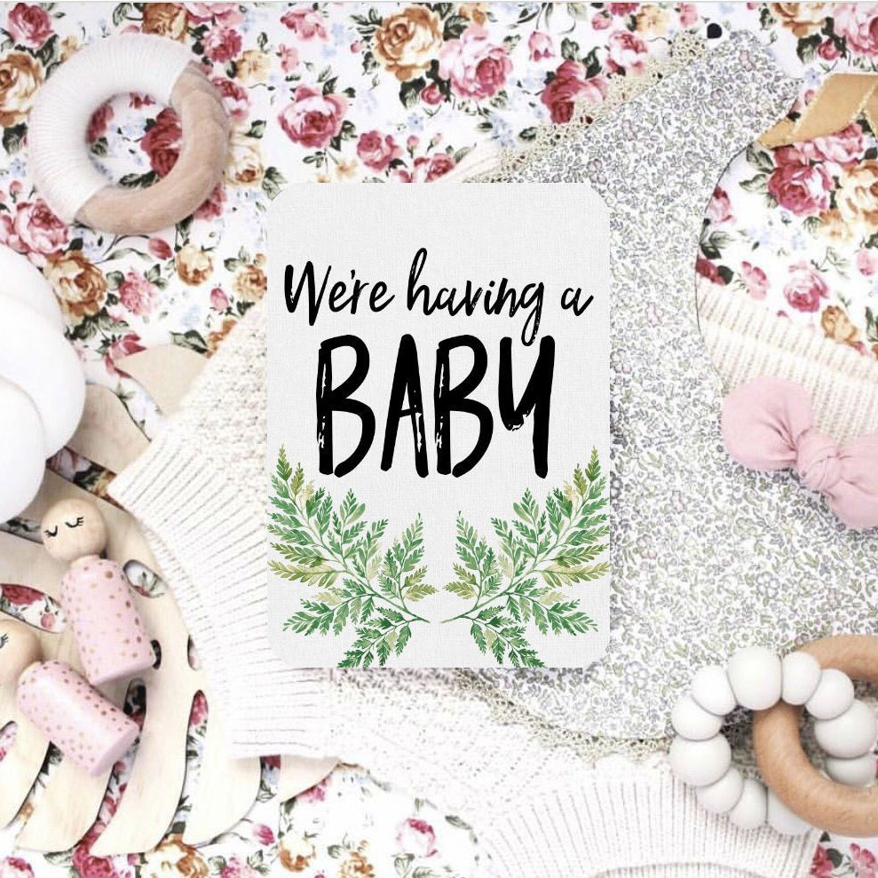 Baby Memory Book With Baby & Pregnancy Milestone Cards Bundle