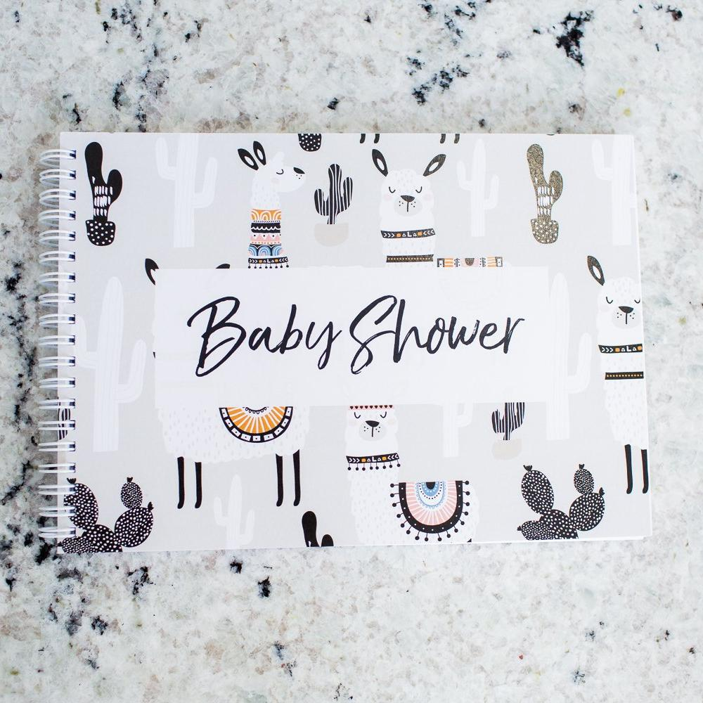 Baby Shower Bundle - Pregnancy & Baby Journal + Baby Shower Guest Book-Vanda Baby