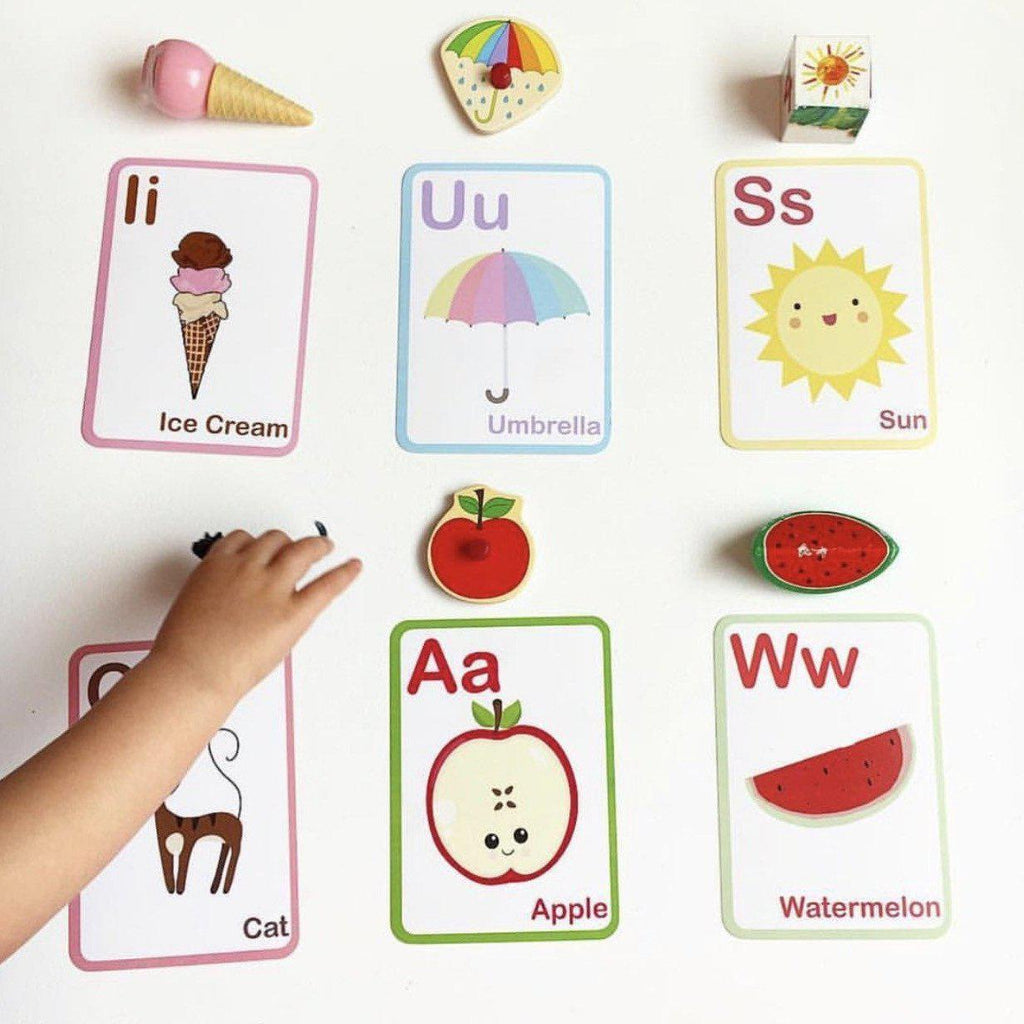 Flash Cards Bundle - ABC and Learning to Count-Vanda Baby