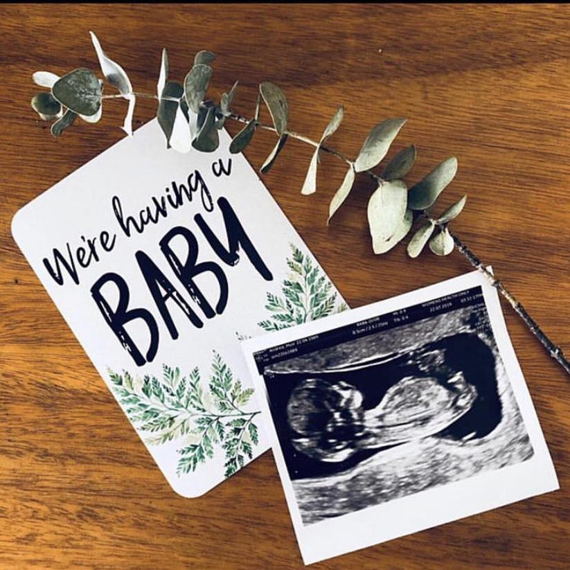 Pregnancy Journal & Pregnancy Milestone Cards-Vanda Baby