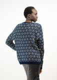 Geo-Diamond Sweater