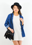 Oversize Denim Chambray