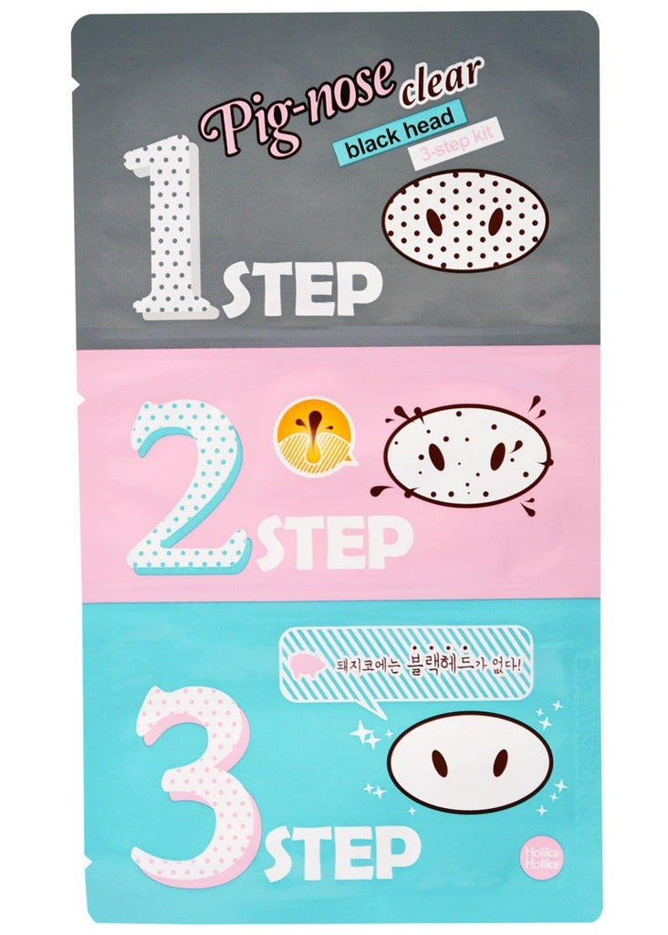 Holika Holika Pig-Nose Blackhead 3-Step Kit