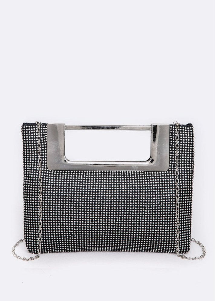 Iconic Top Handle Evening Clutch