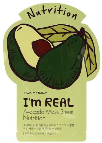 Tony Moly I'm Real Avacado Face Mask