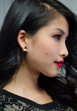 Triangle Shaped Stud Earrings