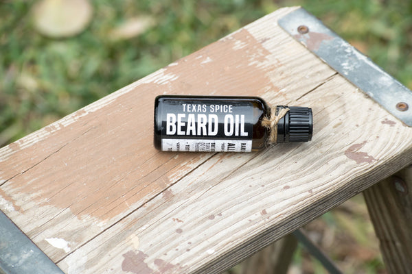 Rustic Beardsman Beard Oil Texas Spice