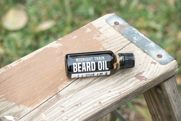 Rustic Beardsman Beard Oil Midnight Train