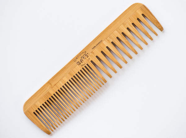 Large Bass Wood Beard Comb Solid Color