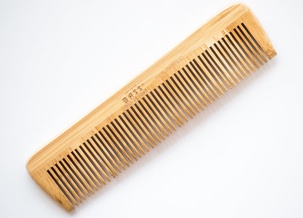 Pocket Bass Wood Beard Comb Solid Color