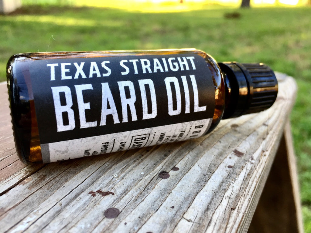 Texas Straight Beard Oil - Limited Edition
