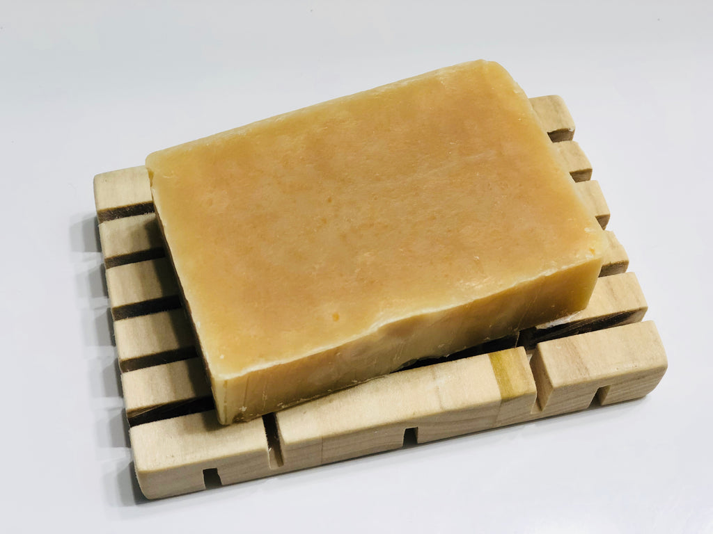 White Grapefruit Goats Milk Soap
