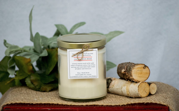 No. 02: Spice Wood | Soy Wood Wick Candle