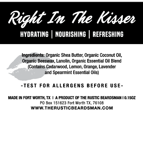 Right In The Kisser Lip Moisturizer 3-Pack | The Rustic Beardsman
