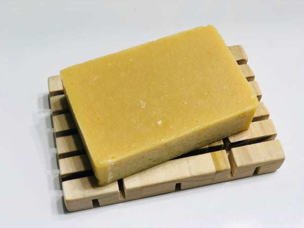 Orange & Ginger Goats Milk Soap | The Rustic Beardsman
