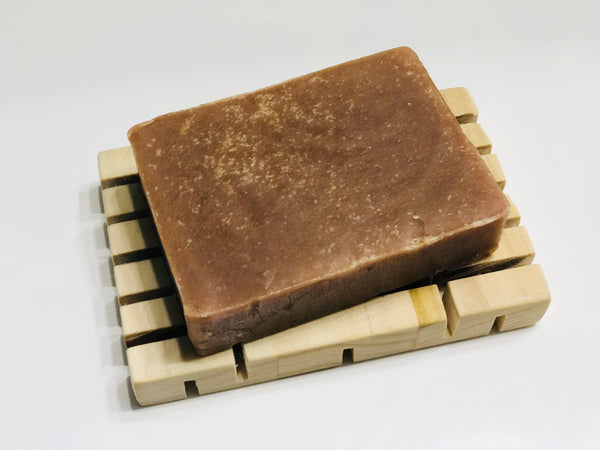 Sandalwood & Vanilla Goats Milk Soap | The Rustic Beardsman