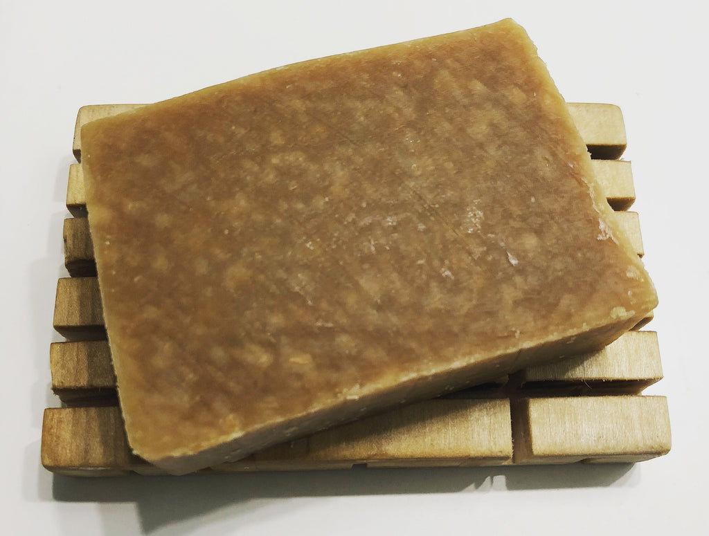 Pine Tar Goats Milk Soap Bar | The Rustic Beardsman
