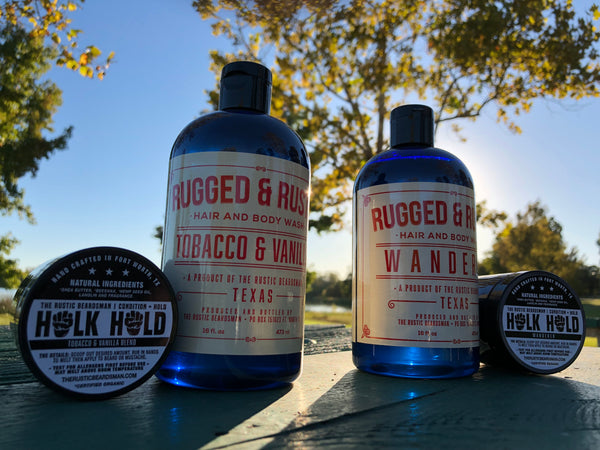 Rugged & Rustic | Tobacco & Vanilla Blend 3-in-1 Wash