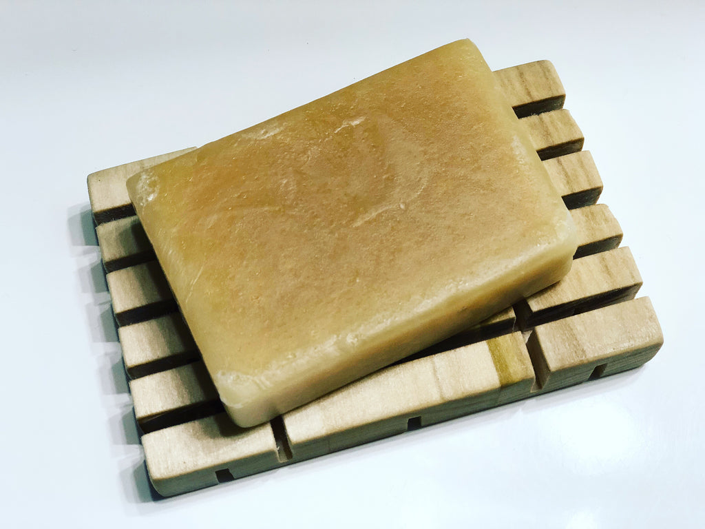 Cedarwood Goats Milk Soap Bar | The Rustic Beardsman