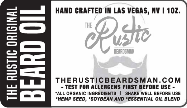 The Rustic Original Beard Oil | The Rustic Beardsman